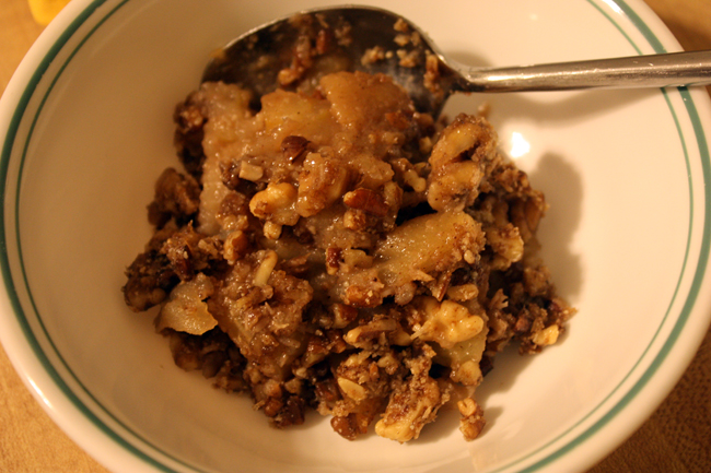 Fall Bucket List 2015: Paleo Apple Crisp