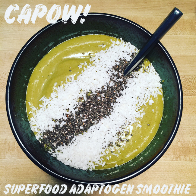 capow superfood adaptogen smoothie recipe